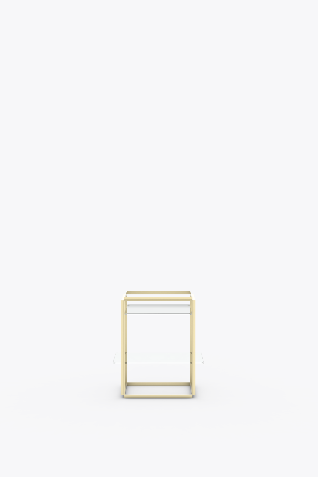 Florence Side Table Raw Gold