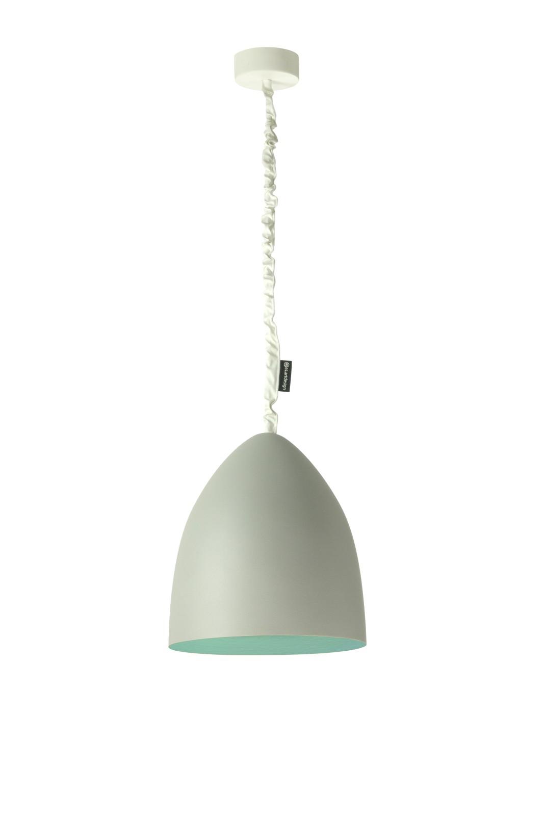 Flower S Pendant Light Grey, Turquoise