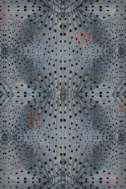 Flying Coral Fish 300x200 cm Polyamide