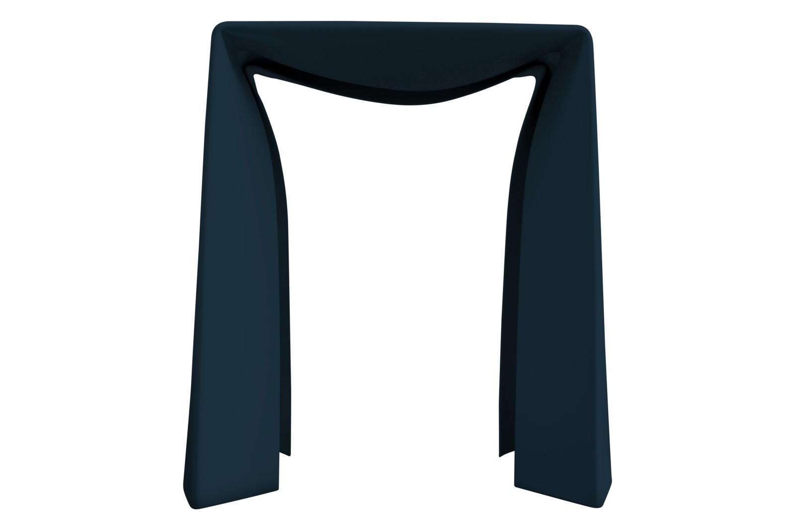 Folded Stool Blue