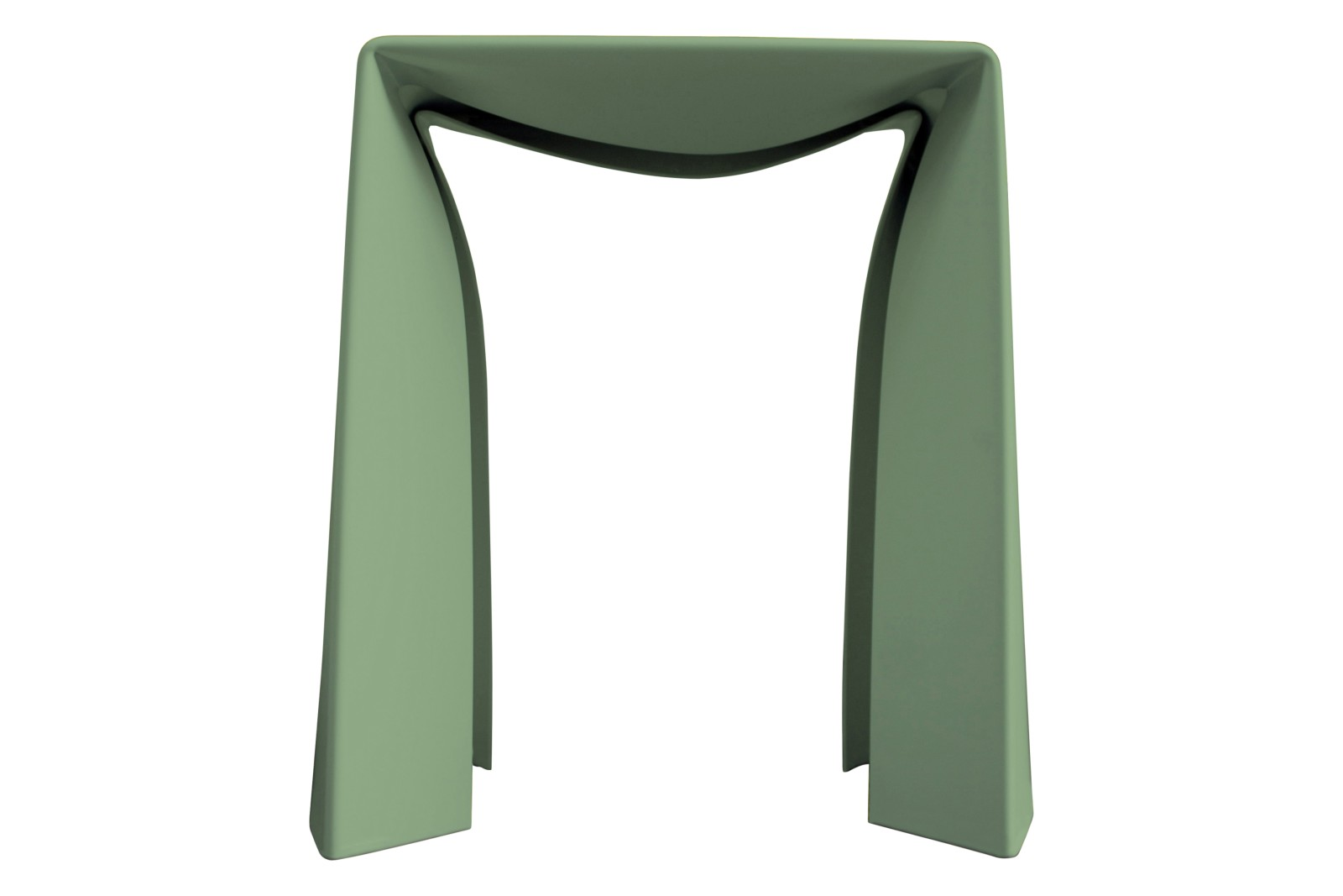 Folded Stool Green