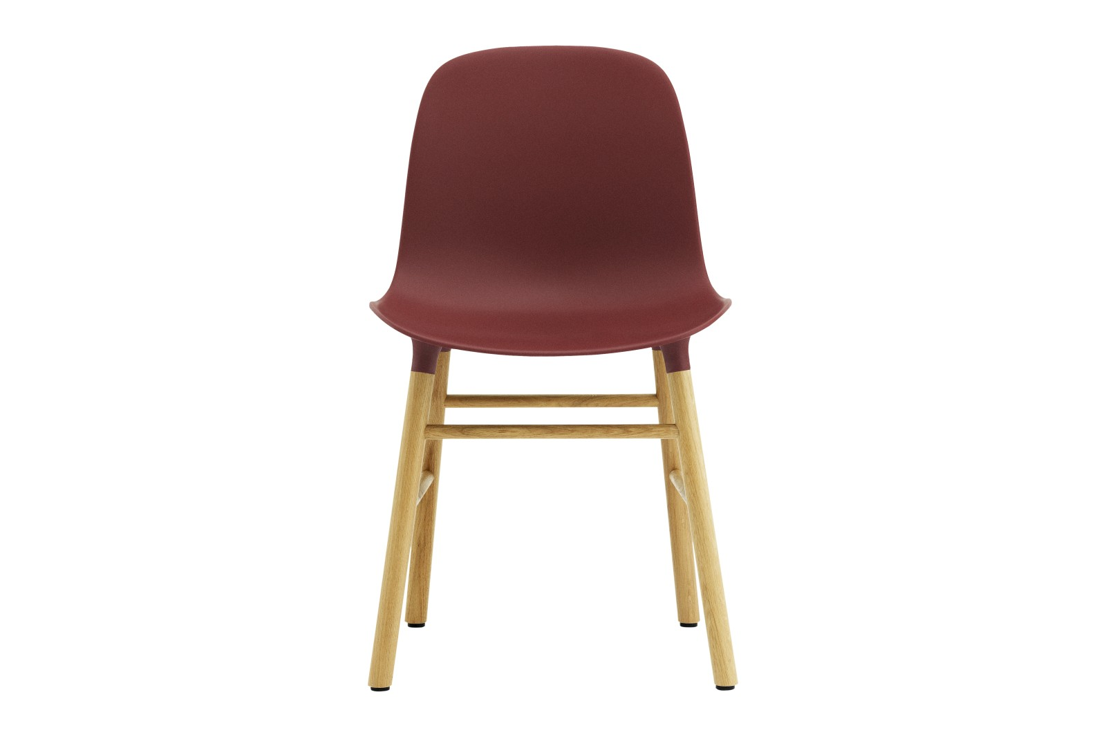Form Dining Chair NC Oak, Red