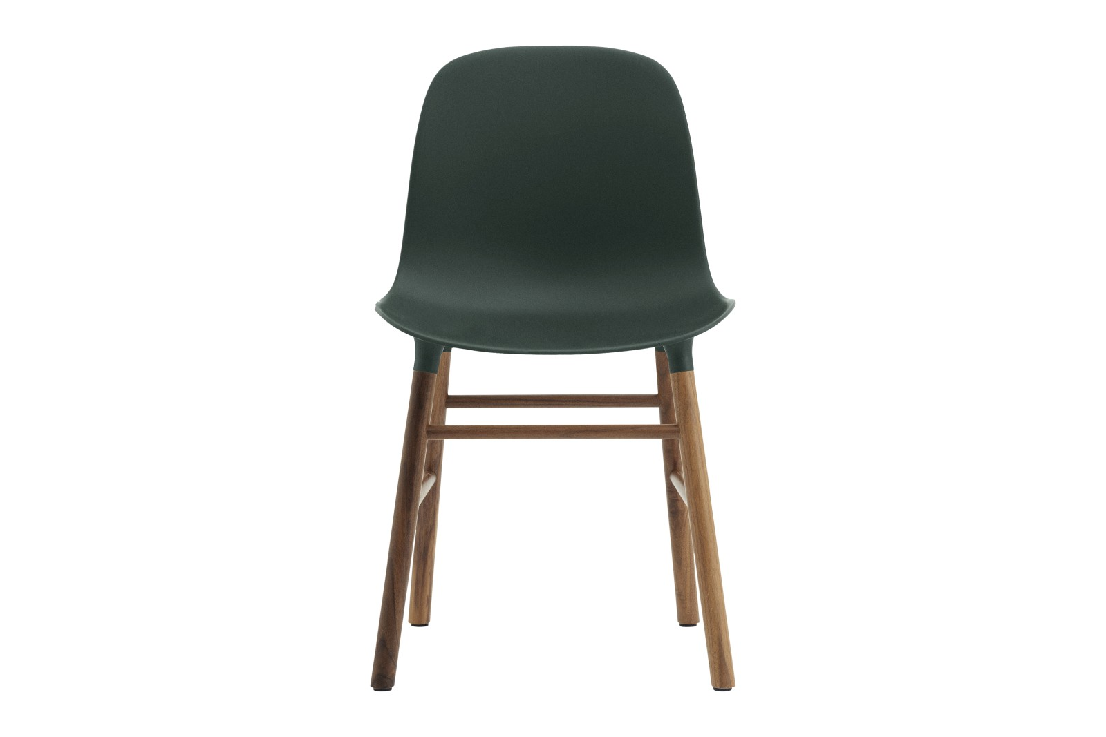 Form Dining Chair NC Walnut, Black