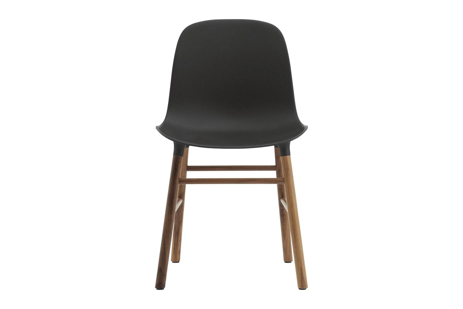 Form Dining Chair NC Walnut, Green