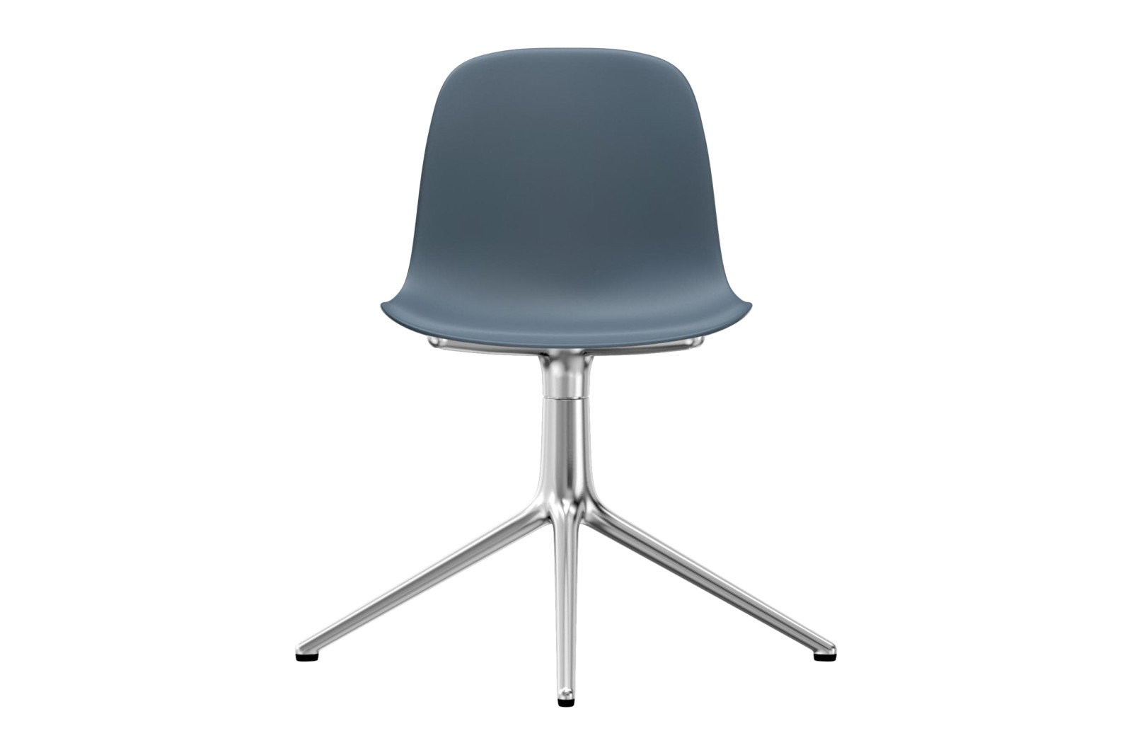 Form Swivel Chair 4L NC Aluminium, Blue