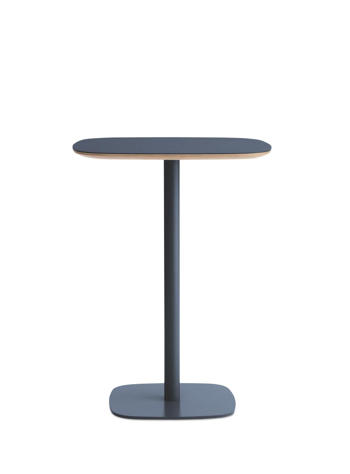 Form High Cafe Table Blue, Medium