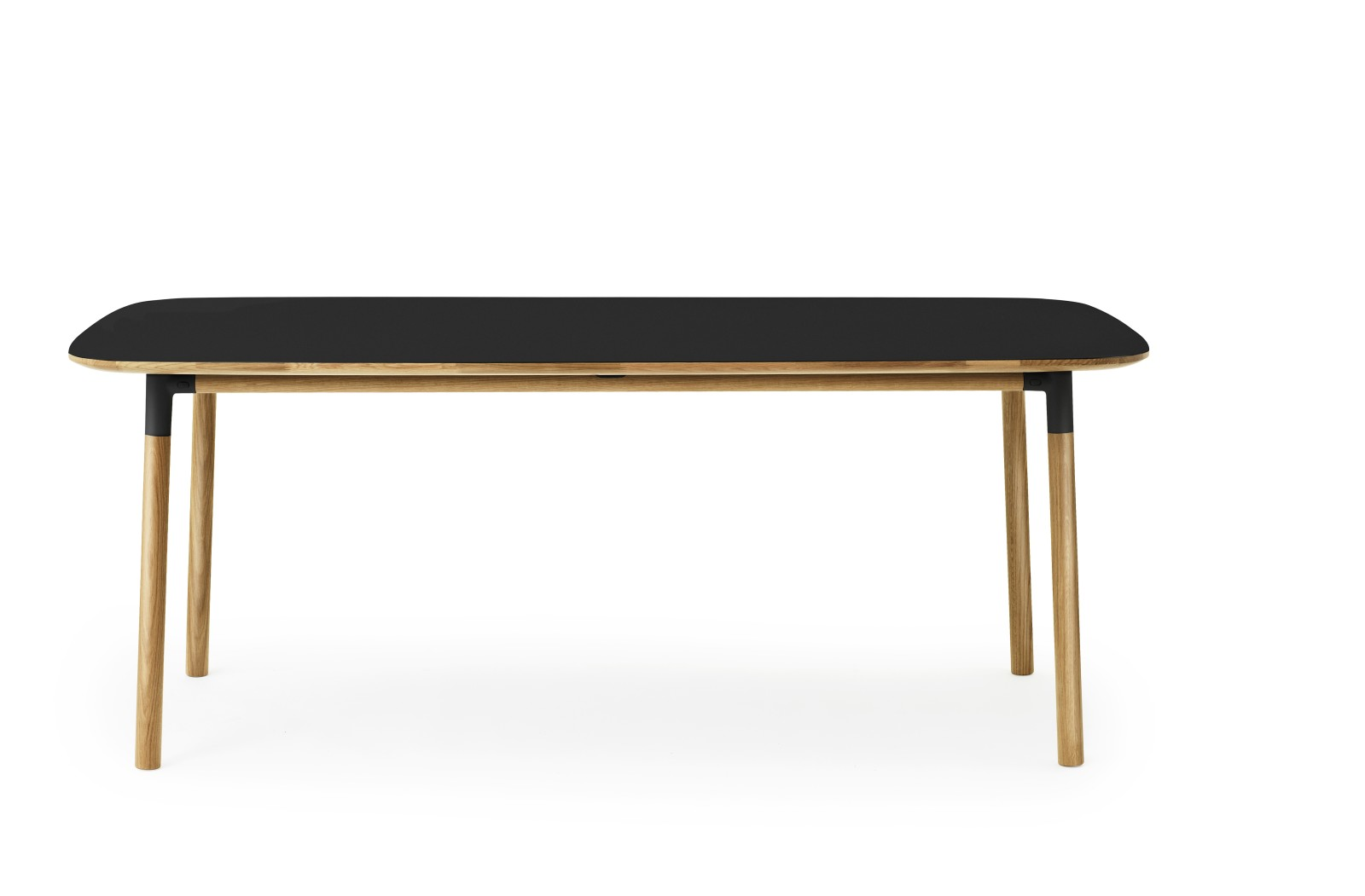 Form Table - Rectangle Black