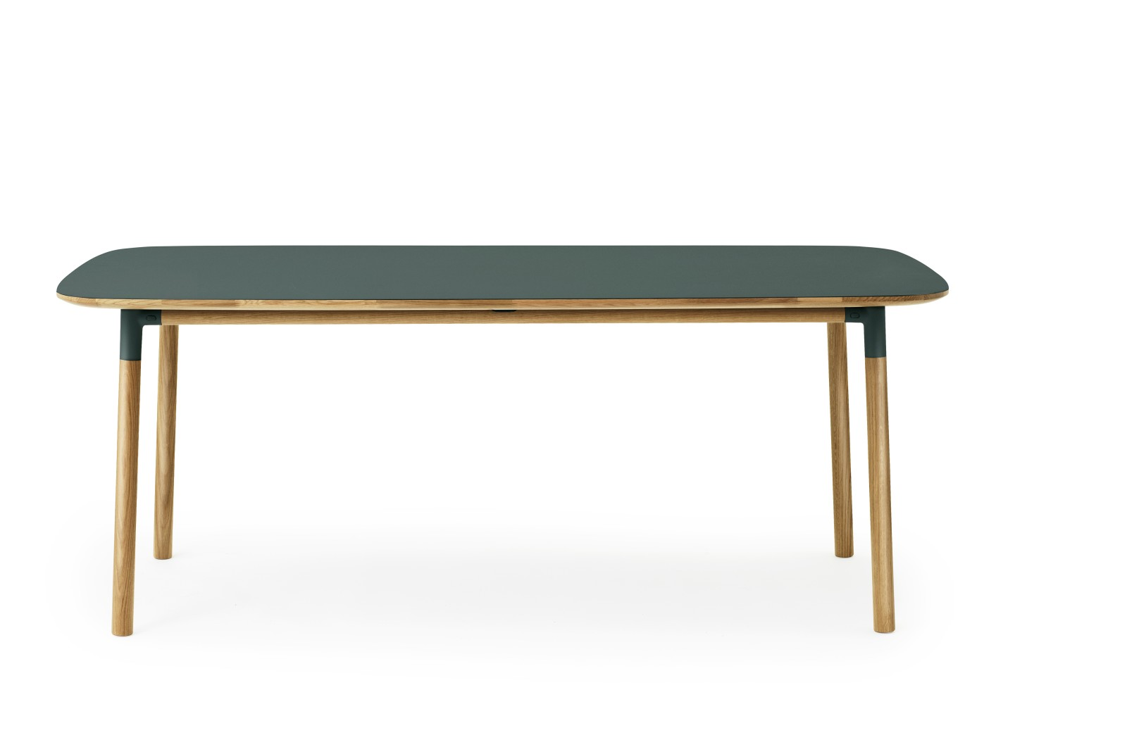 Form Table - Rectangle Green