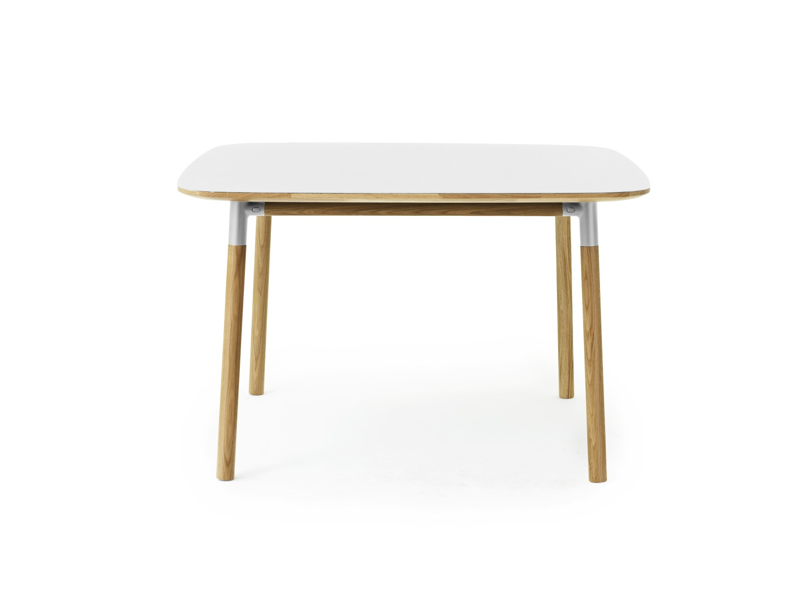 Form Dining Table - Square White