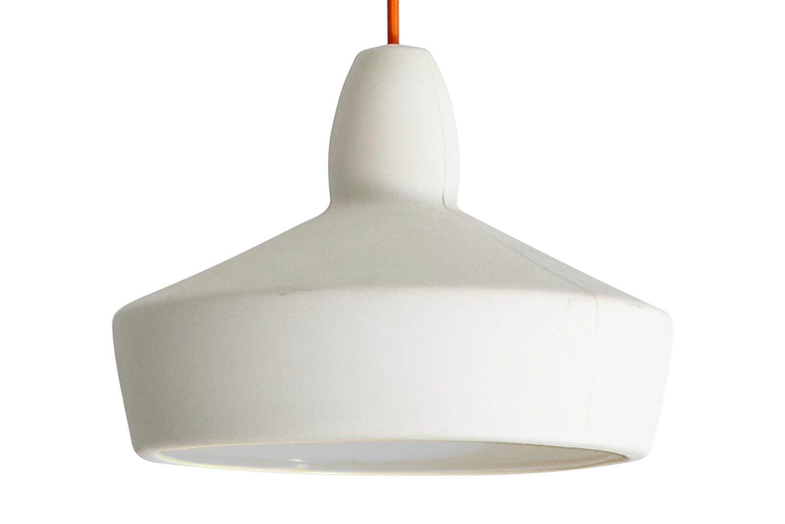 Full Spun Pendant Light White