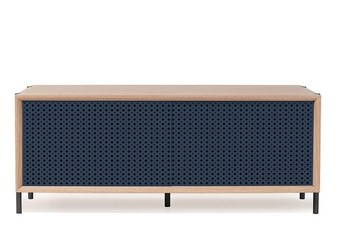 Gabin Sideboard without Drawer Grey Blue, 122cm