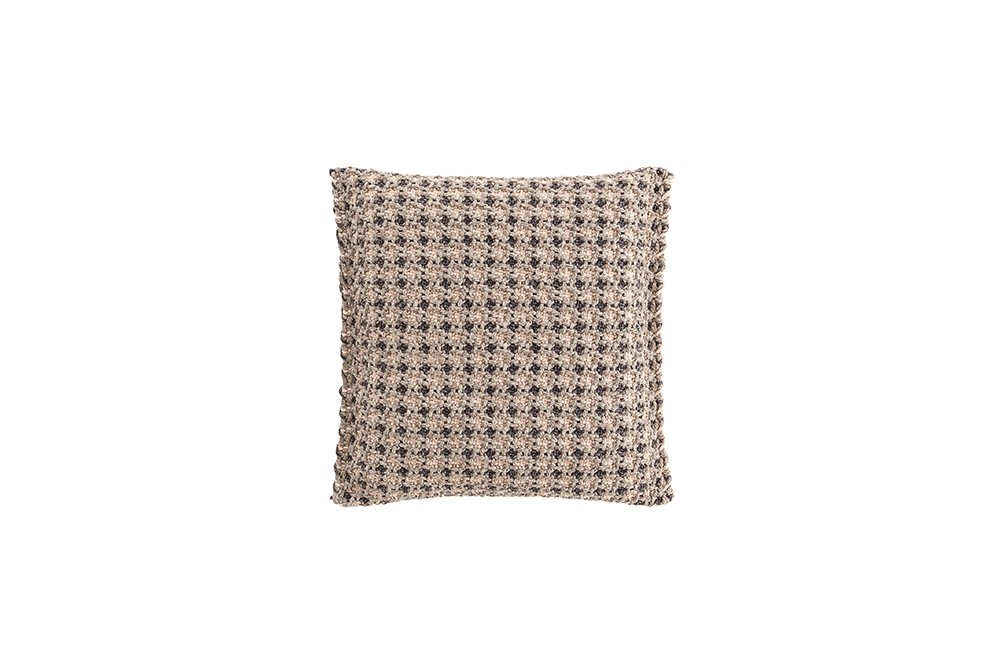 Garden Layers Small Cushion Gofre terracotta