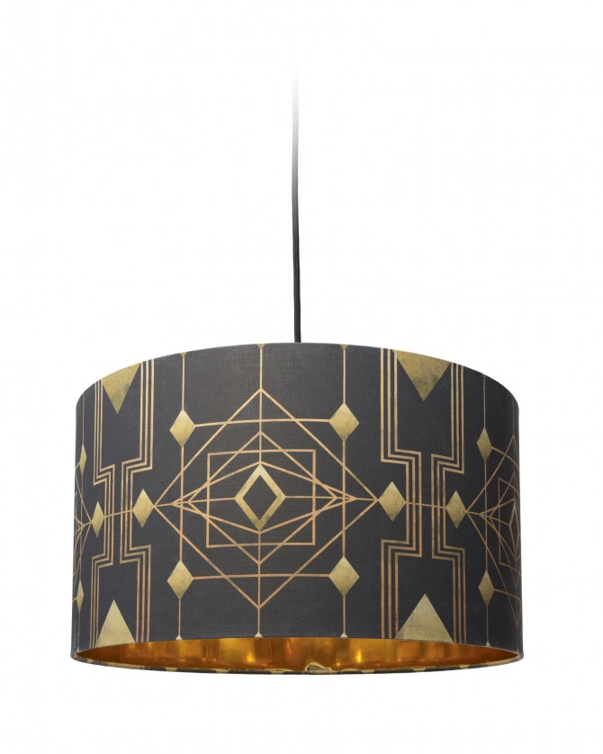 Gatsby Drum Pendant Light