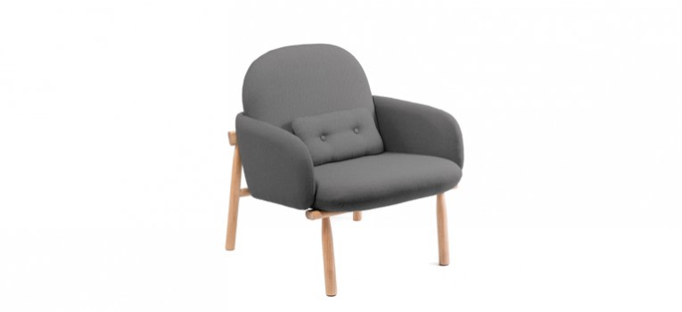 Georges Armchair Light Grey
