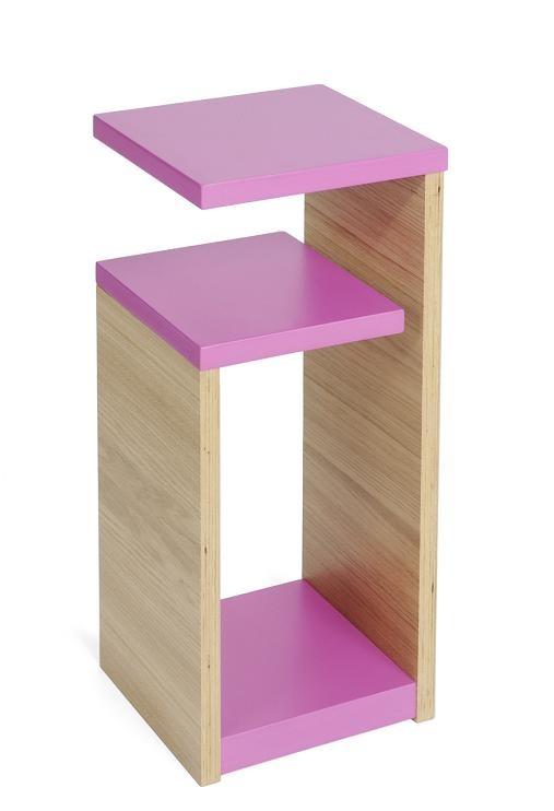 GG Shelves Magenta/Oak
