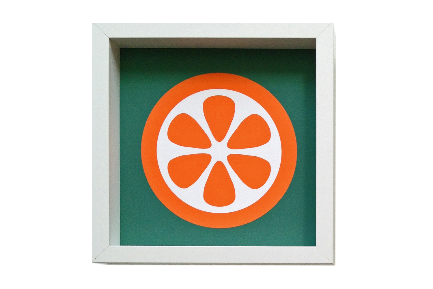 Giclee Art Print Orange
