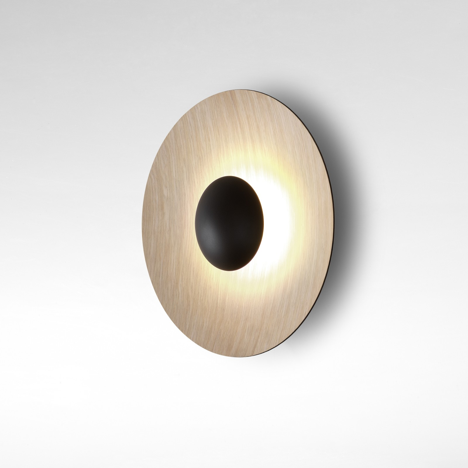 Ginger C Wall light Oak - White, 42cm