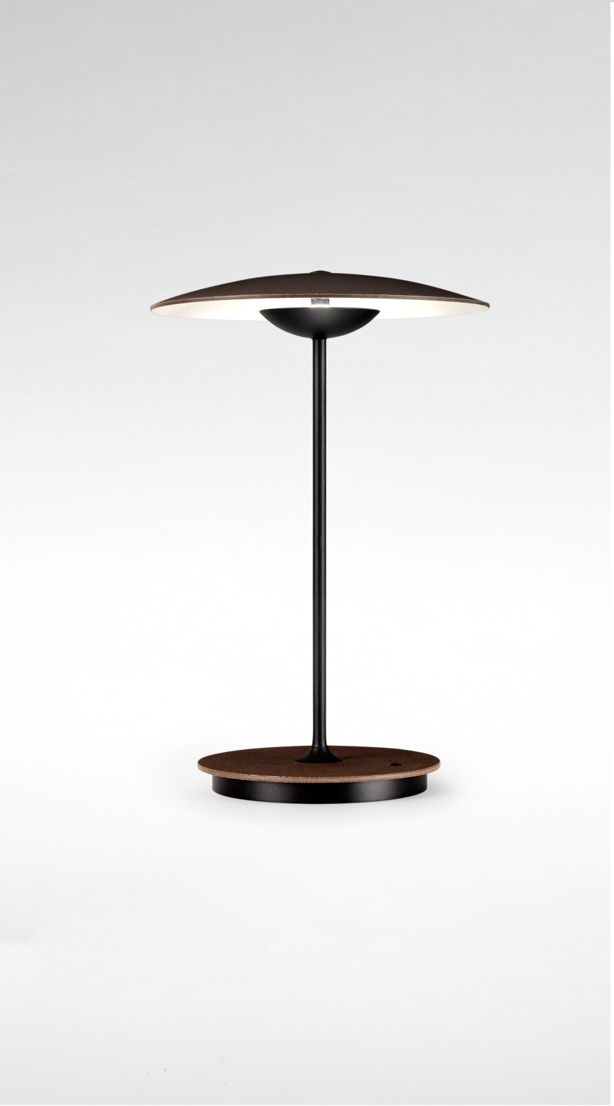 Ginger Table Lamp - Set of 2 Wenge, 30 cm