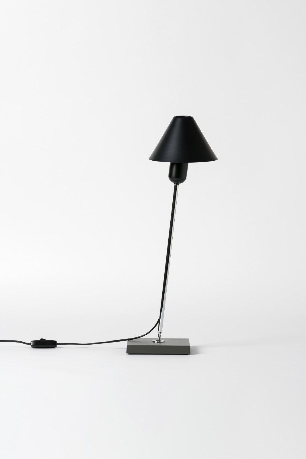 Gira Table Lamp Black Anodized Aluminium