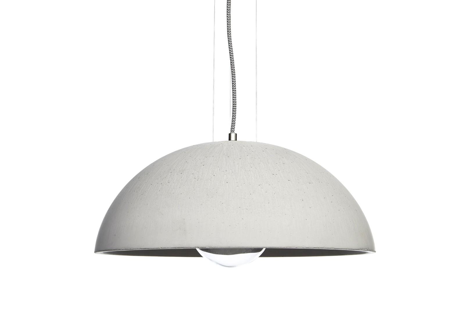 GLOBUS 410 concrete pendant lamp