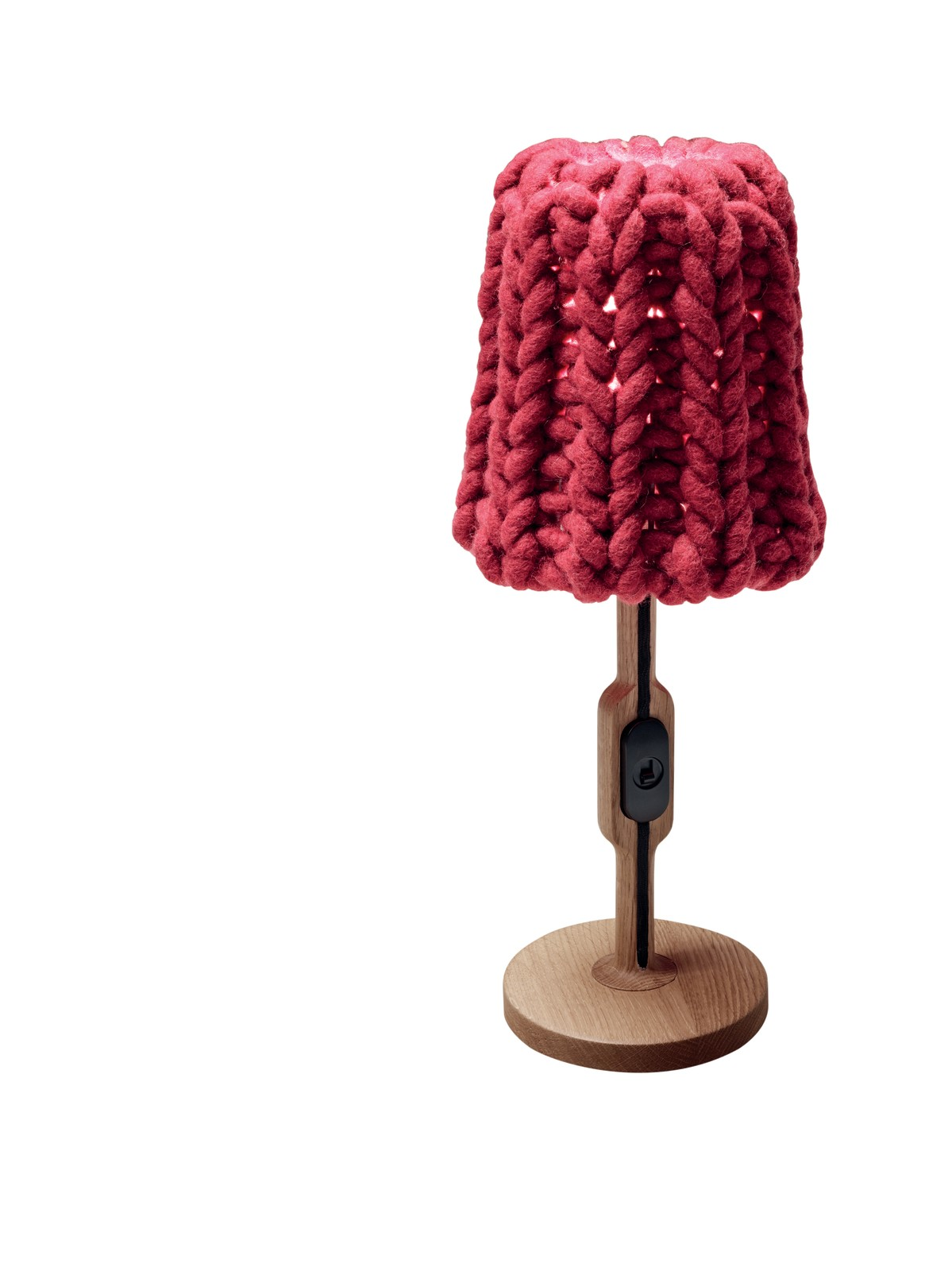 Granny Table lamp raspberry