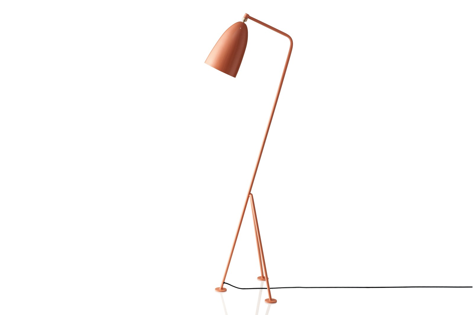 Gräshoppa Floor Lamp Metal Vintage Red