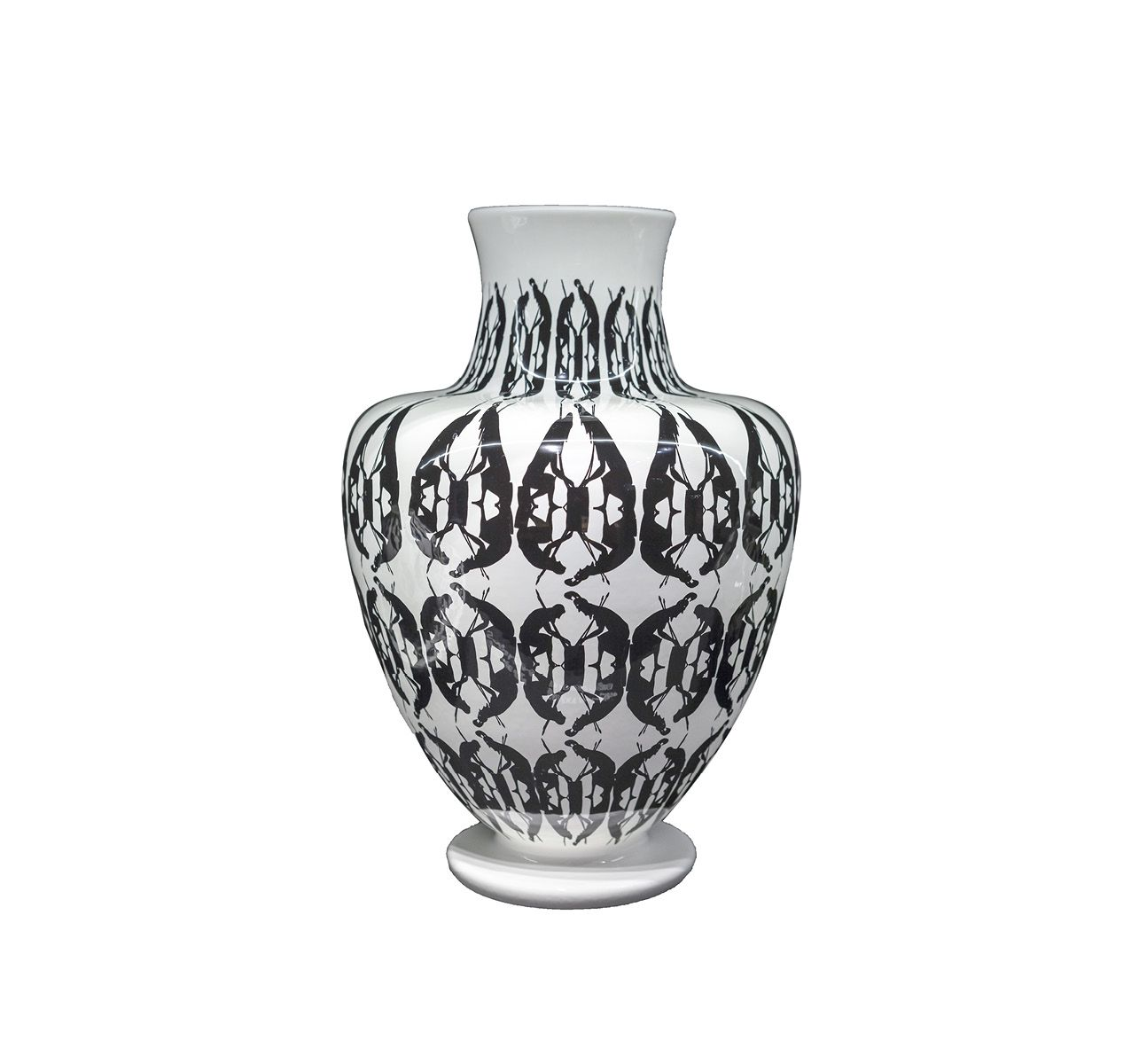 Greeky Large Vase White