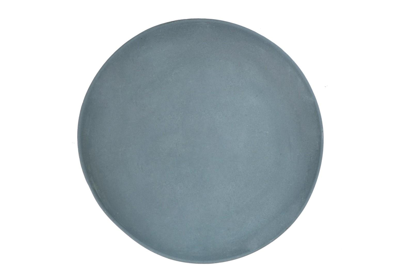 Grey Plate Mid Grey