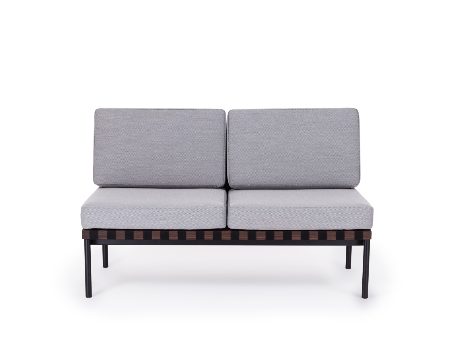 Grid Square Back 2 Seater Sofa Gabriel Medley 60999