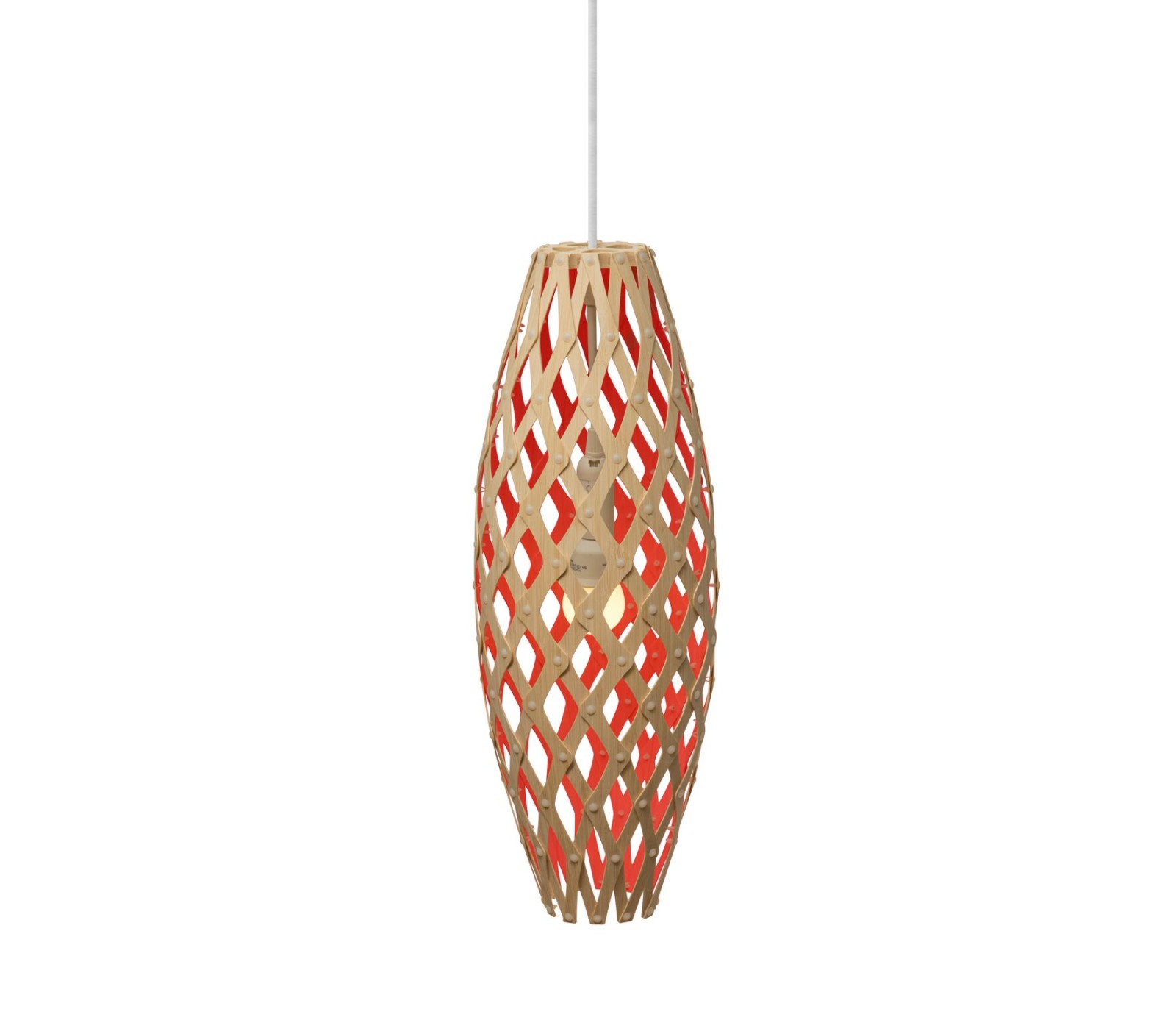 Hinaki Pendant Light Red, 50