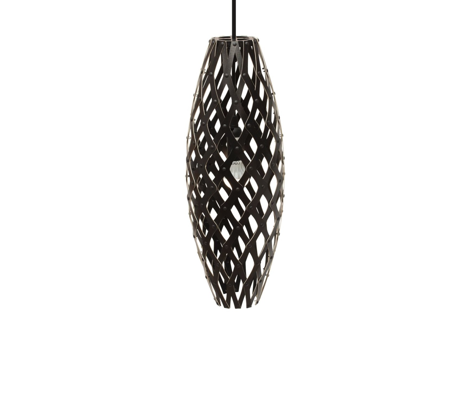 Hinaki Pendant Light Black 2 Sides, 50