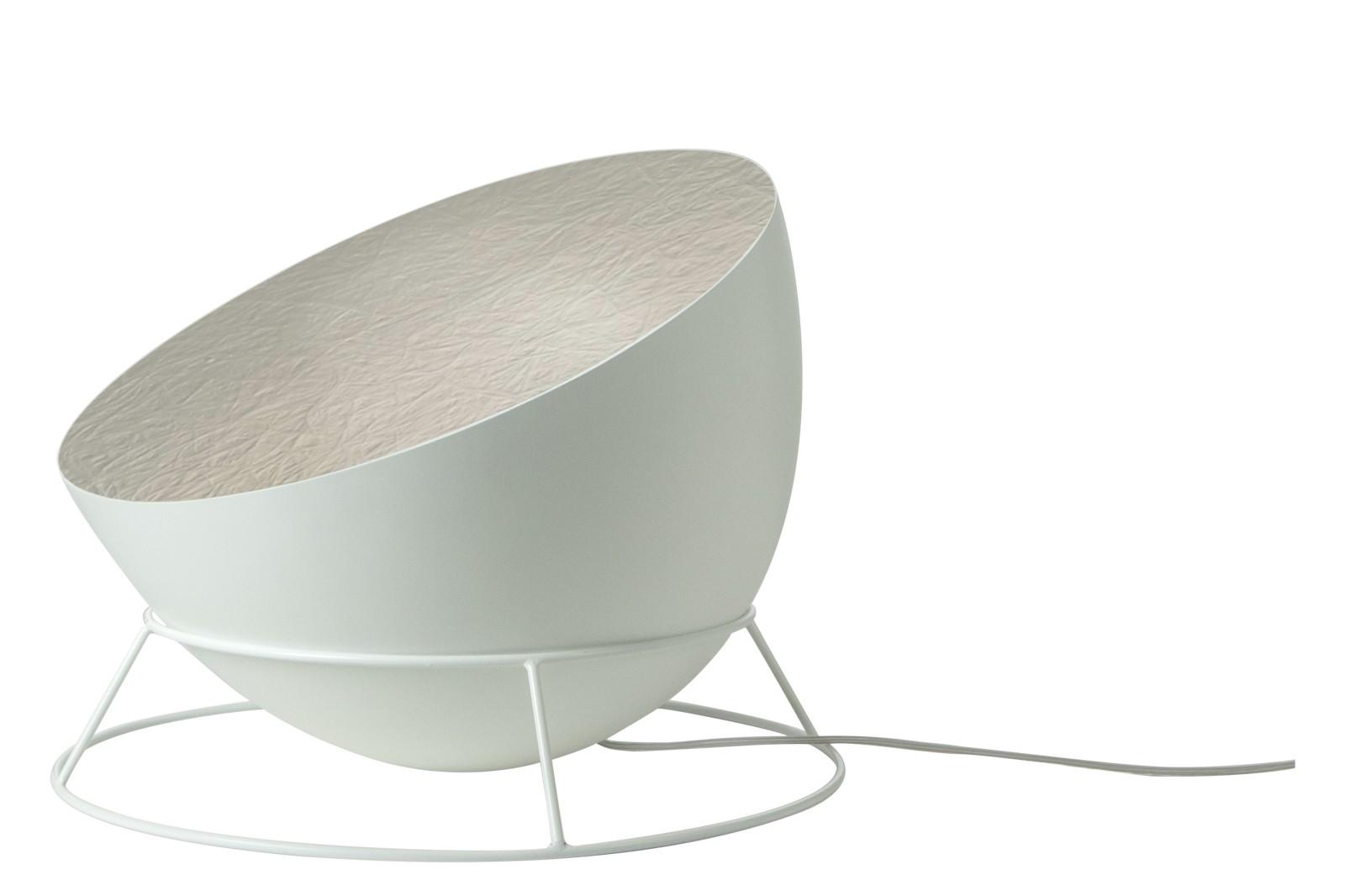 H2O F Floor Lamp White, Silver
