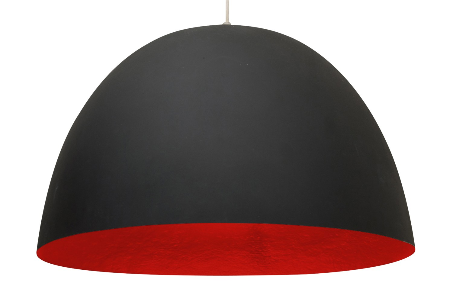 H2O Pendant Light Black and Red