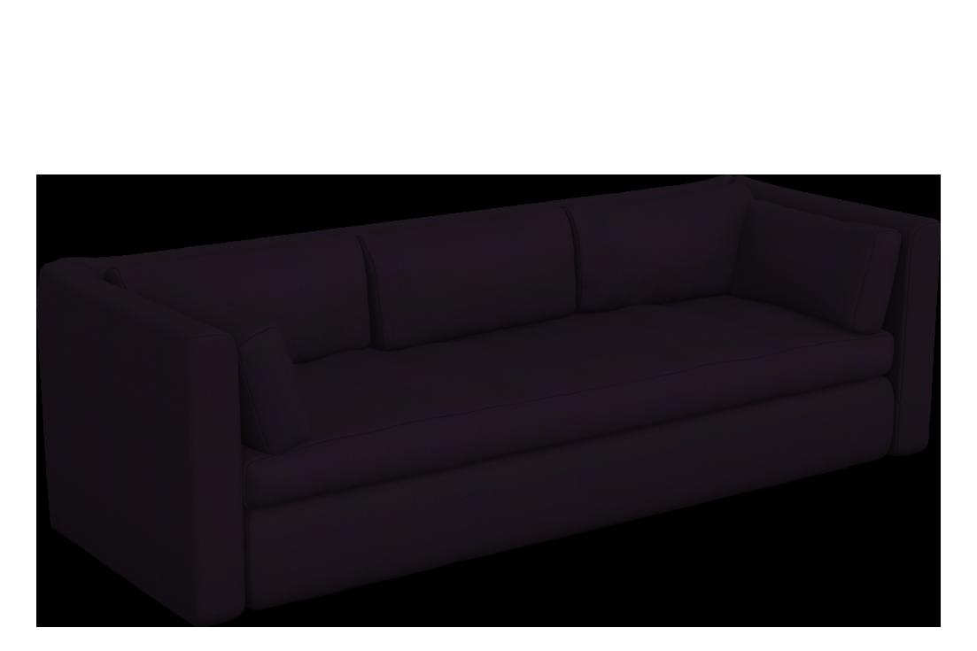 Hackney 3 Seater Sofa Harald 3 692, CMHR foam - No