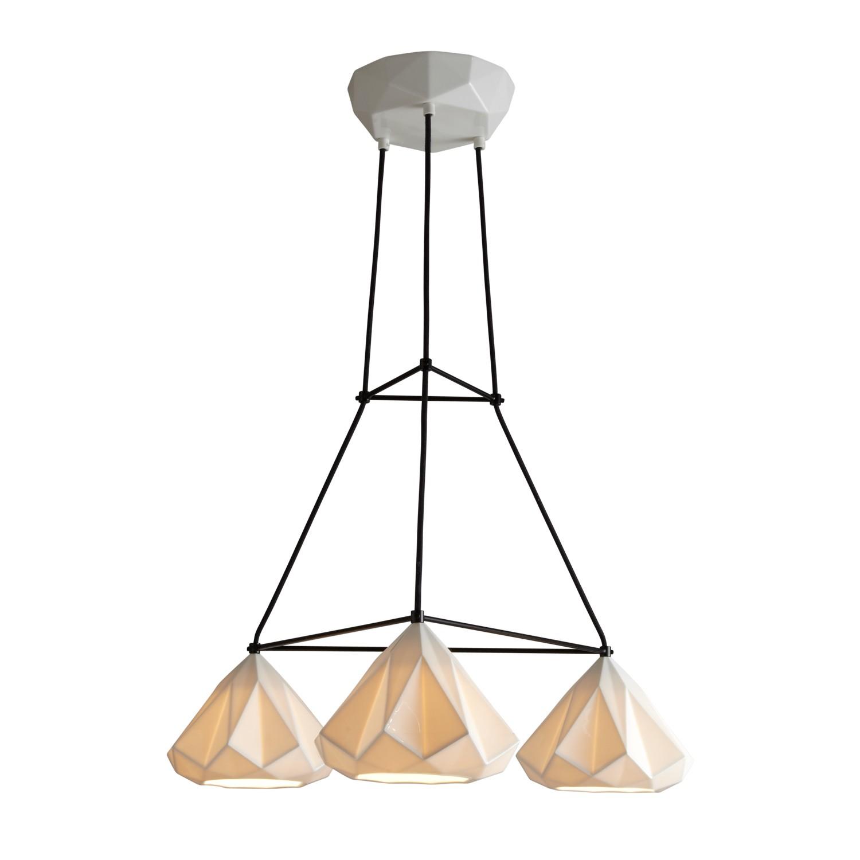 Hatton 1 Triangular Pendant Light