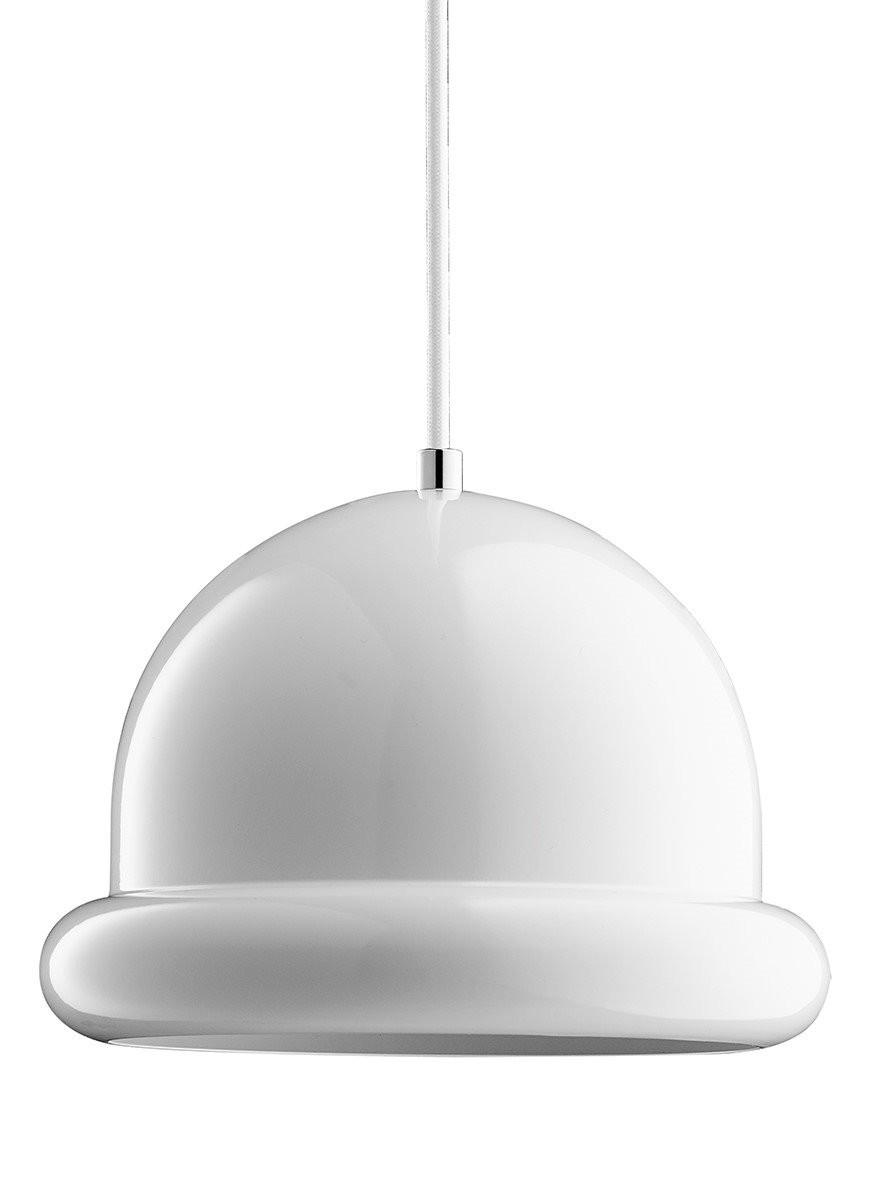 Hattrick Pendant Light White