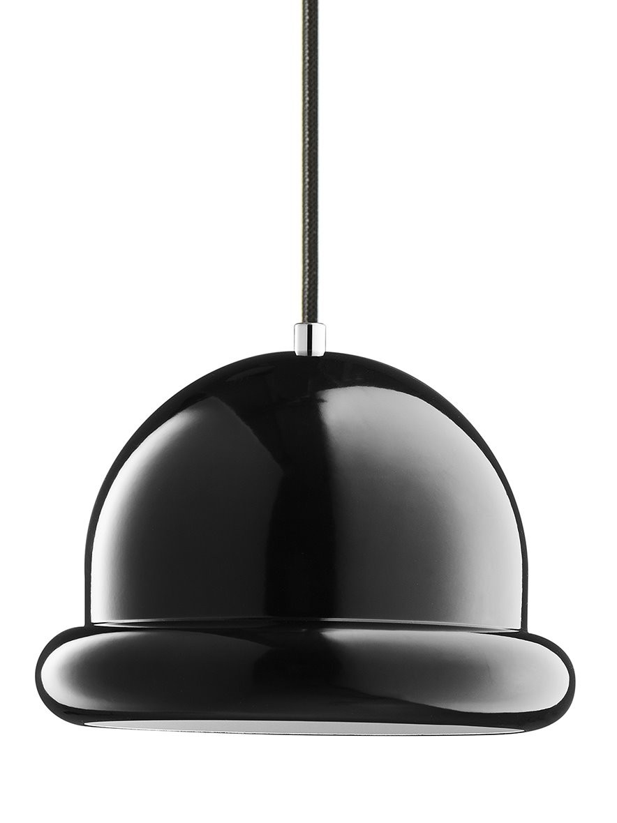 Hattrick Pendant Light Black