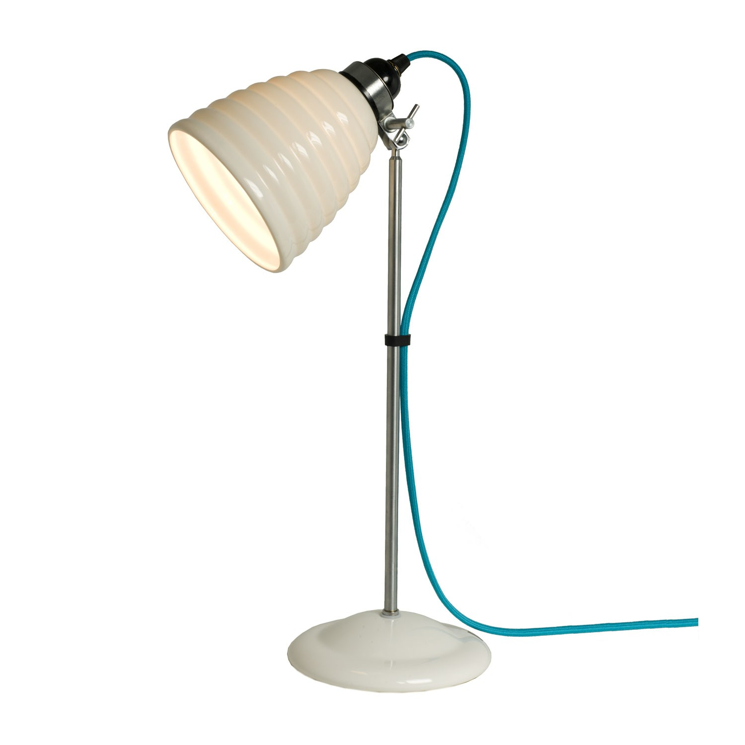 Hector Bibendum Table Lamp Turquoise Cable