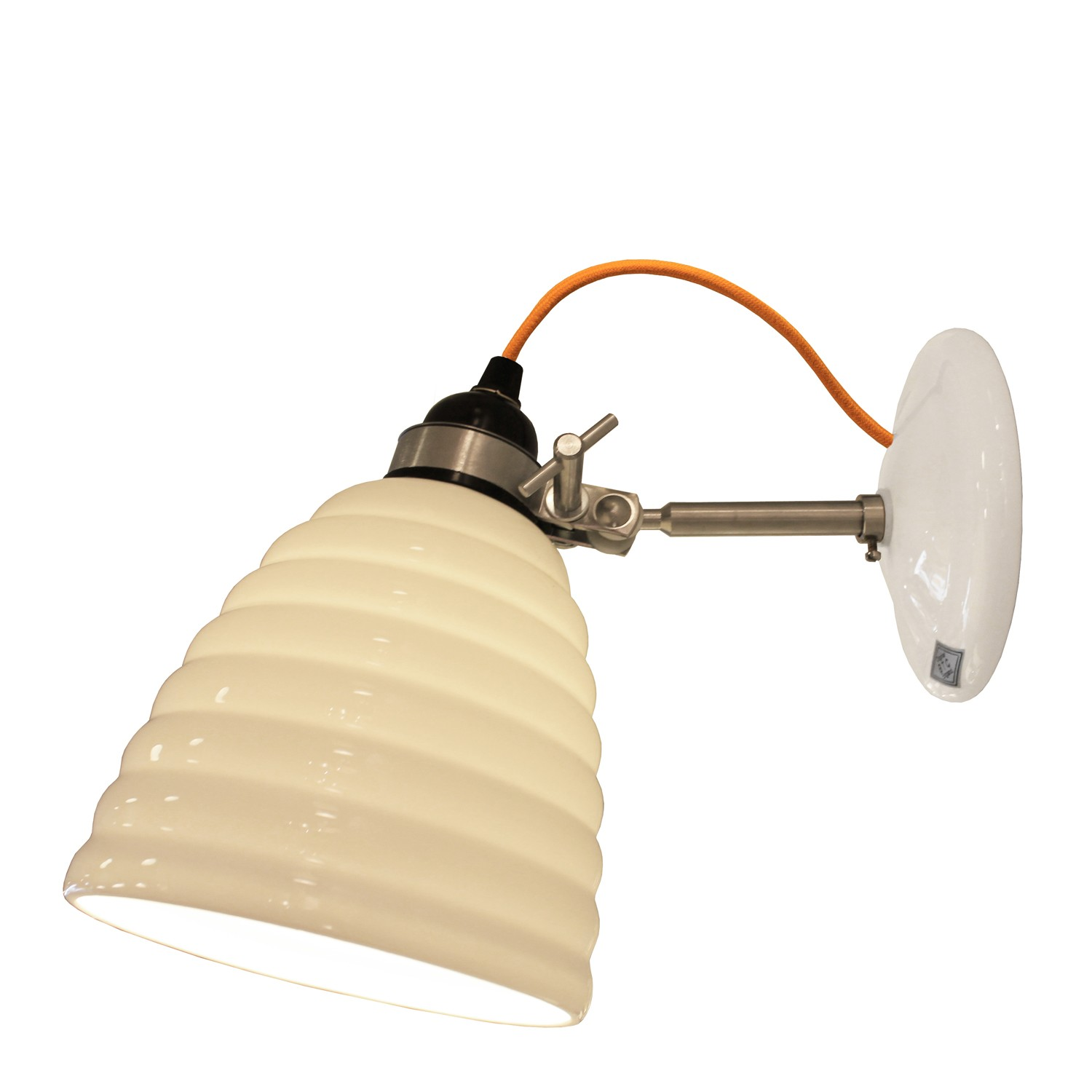 Hector Bibendum Wall Light Yellow Cable