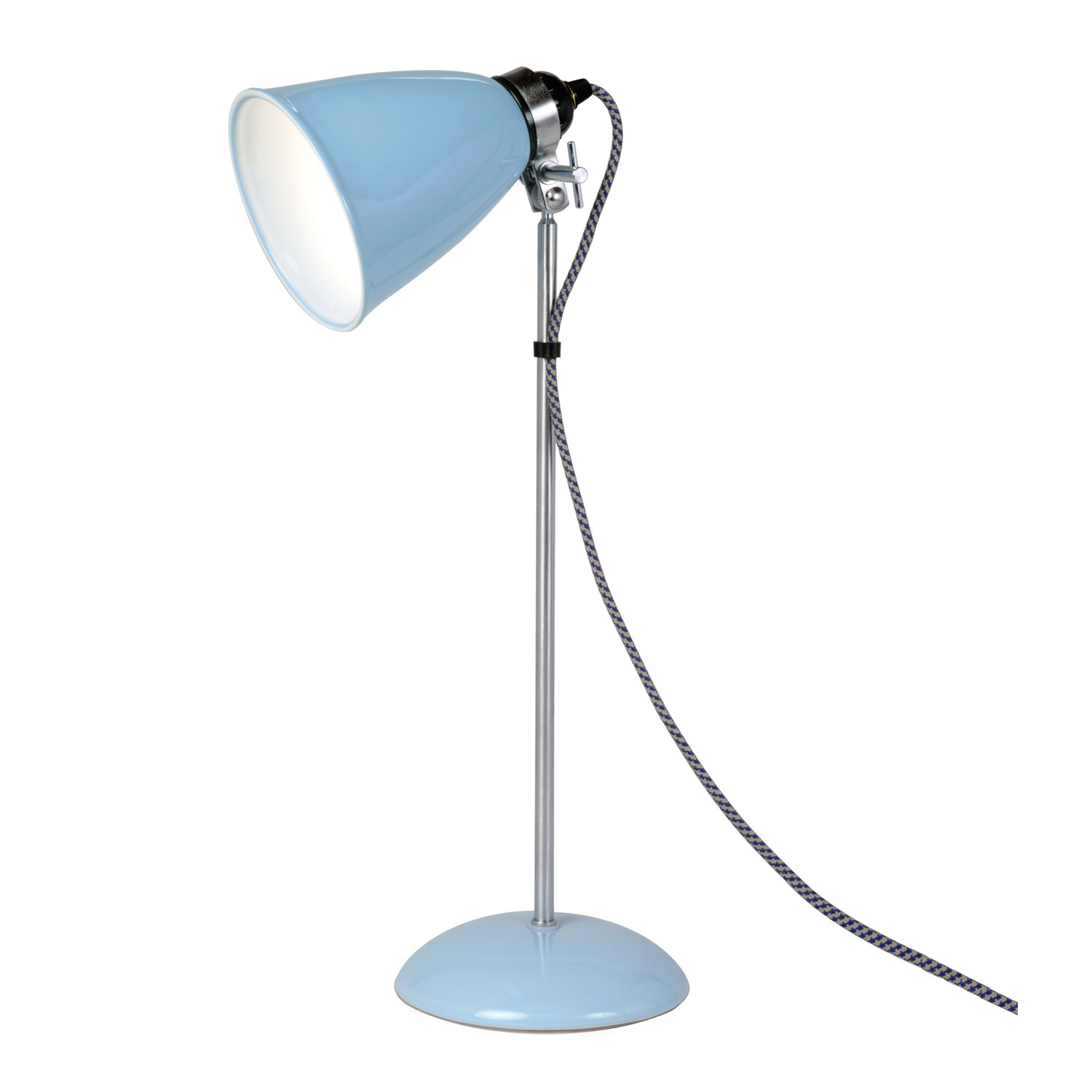 Hector Dome Table Lamp Light Blue, Medium