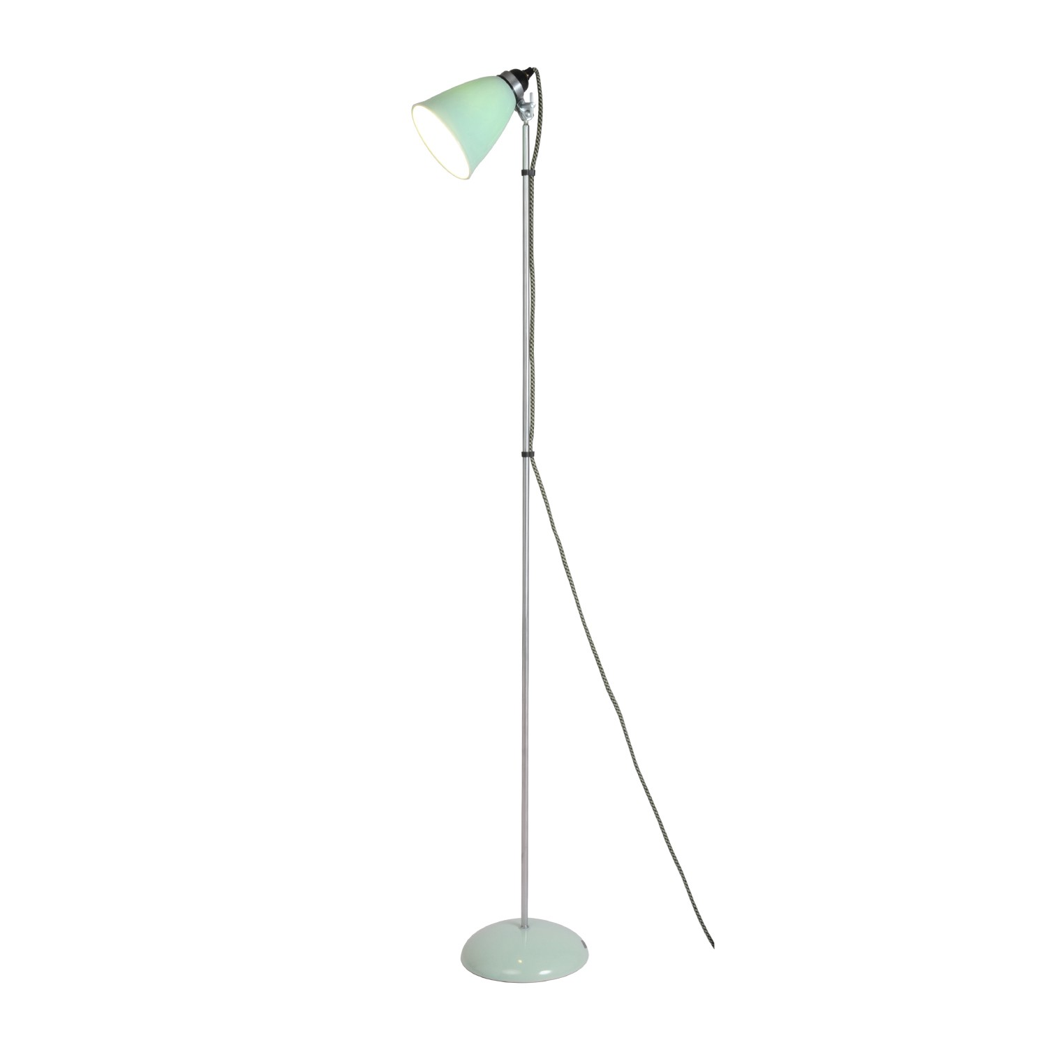 Hector Medium Dome Floor Lamp Light Green