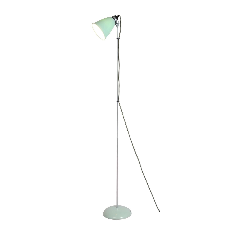 Hector Medium Dome Floor Lamp Light Green
