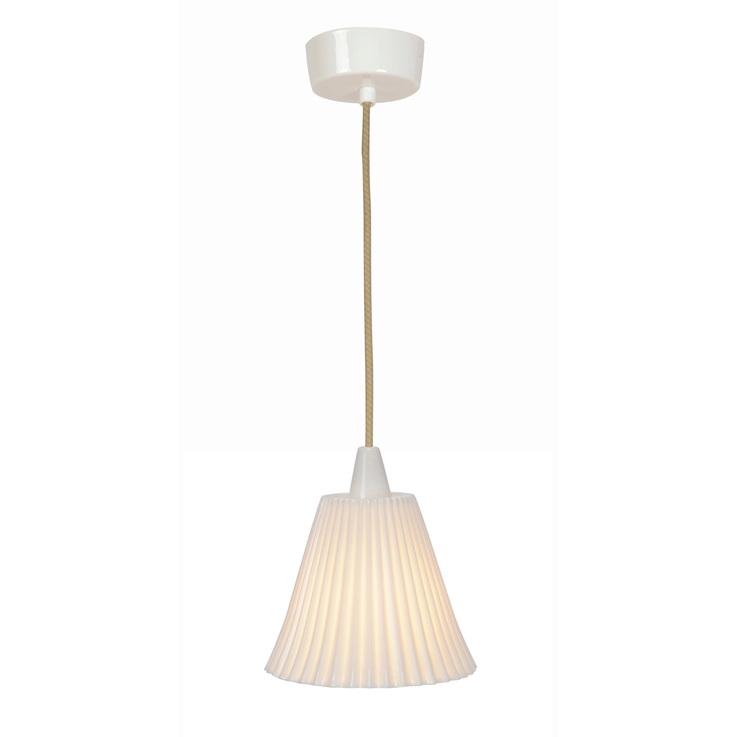 Hector Pleat Pendant Light Large