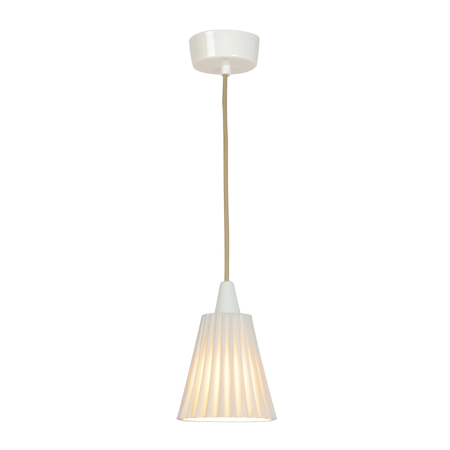 Hector Pleat Pendant Light Medium