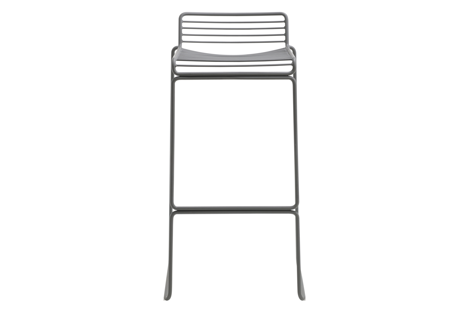 Hee Bar Stool Grey, Low