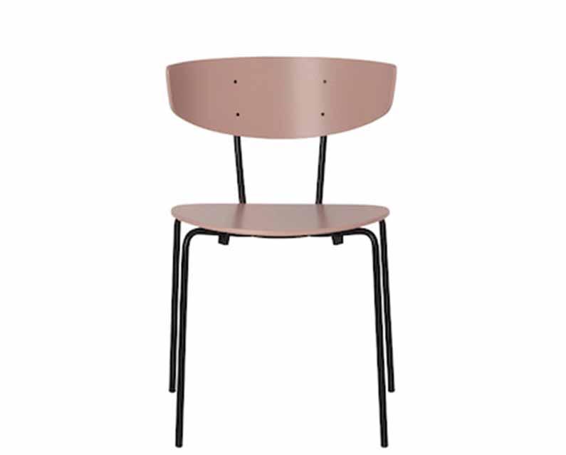 Herman Dining Chair - Set of 2 Rose
