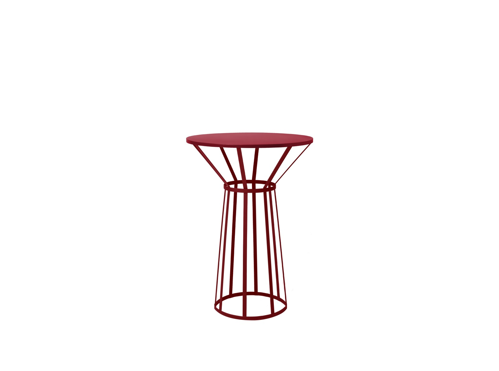 Hollo High Table for Two Burgundy