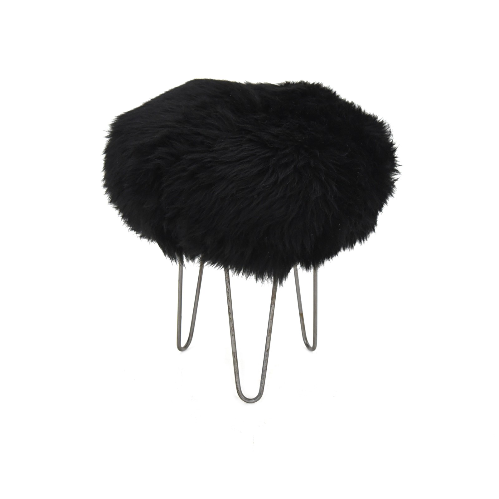 Holly Baa Stool Coal Black