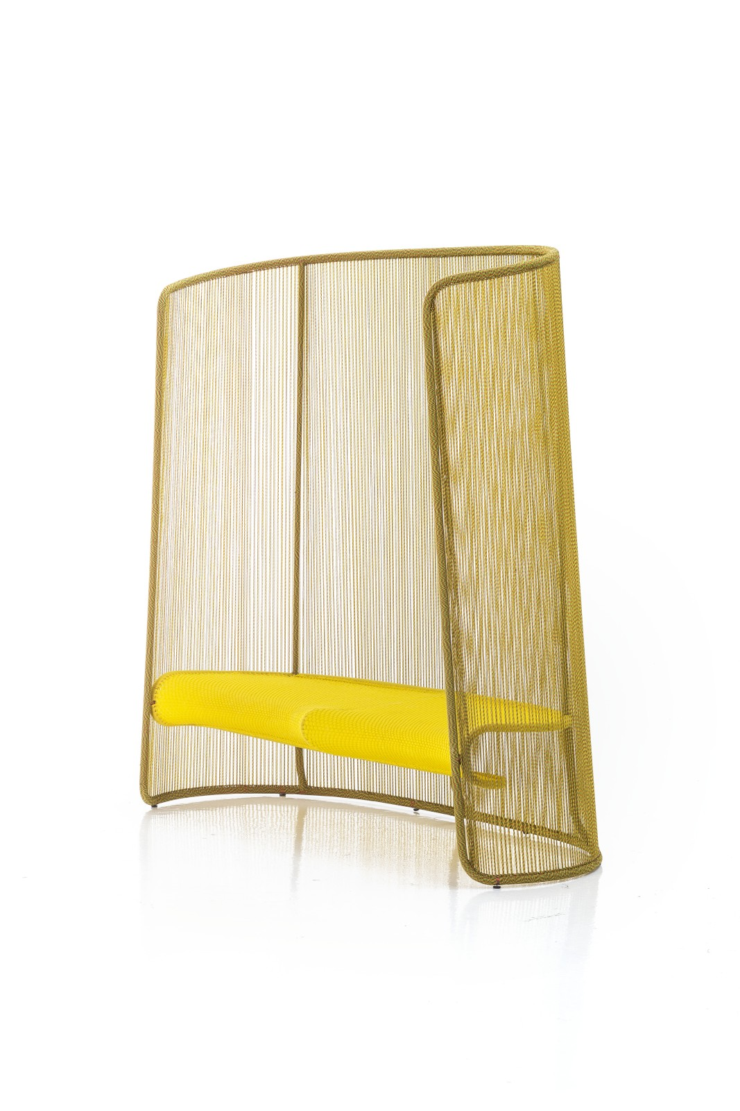 Husk M Armchair Yellow
