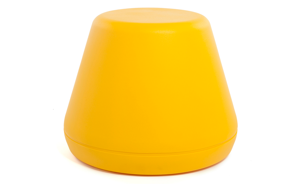 Hyde Outside Stool Yellow
